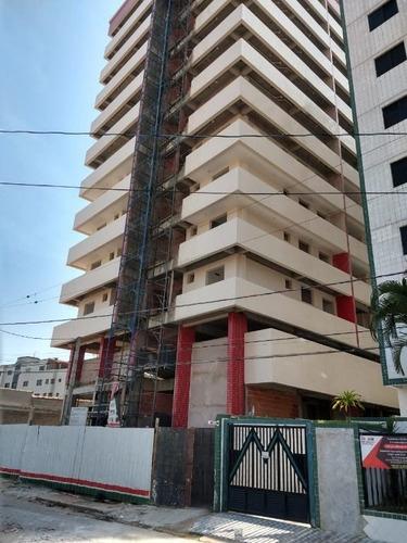 Imagem 1 de 13 de Apartamento Novo Com 2 Dormitórios À Venda, 70 M² Por R$ 275.000 - Aviação - Praia Grande/sp - Ap3096