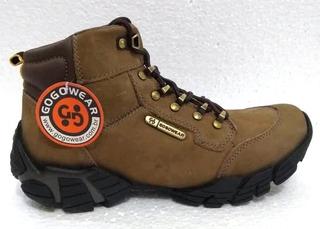Bota Gogowear Tibete B Nobuck Andiroba