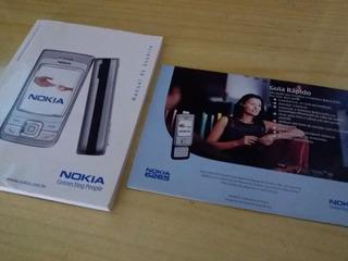 Manual Celular Nokia 6265