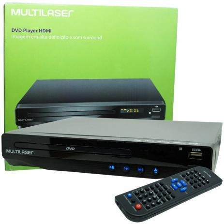 Dvd Player Com Karaoke Sp193 5.1 Canais Hdmi Usb - Multilase