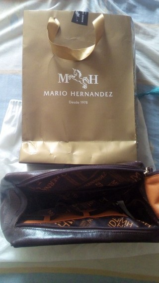 Bolso De Mano Para Caballero Mario Hernandez Original