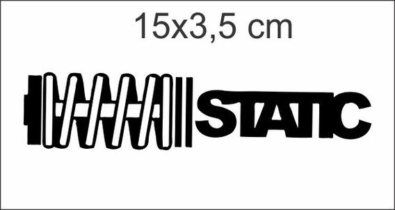 Adesivos Carro Static Tunning Fixa! Rebaixado Kit C/2 Unid.
