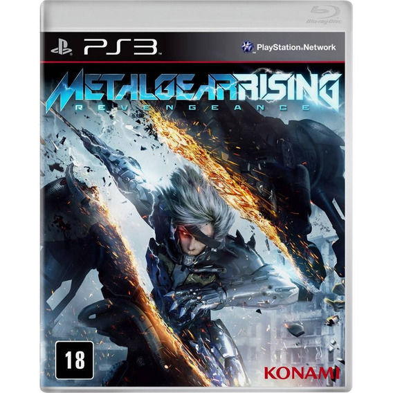 Metal Gear Rising Revengeance - Sony Ps3 - Lacrado