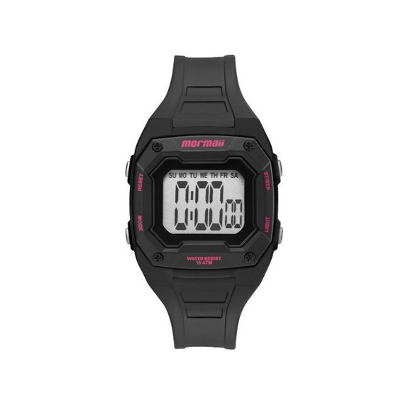 Relógio Mormaii Infantil Digital Preto Mo9451aa/8t