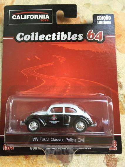 Bx400 California Vw Fusca Polícia Civil Volkswagen Beetle H3