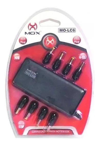 Carregador Para Notebook 10 Pinos Universal Mox Lc6 Bivolt