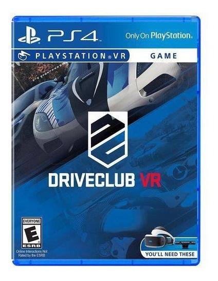 Ps4 Driveclub Vr Novo Lacrado
