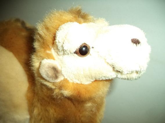 Camelo Pelucia Antigo Realista Lindo Perfeito