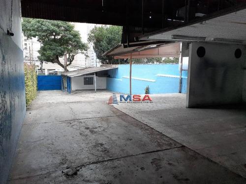 Terreno Á Venda No Sumaré, 450,0m², Próximo Das Est.metrô  Sumaré E Vila Madalena. - Te0161