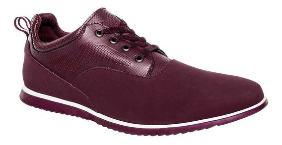 Tenis Gösh Hombre 0888i-02 Color Vino Talla 25-29 -shoes