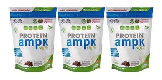 Protein Ampk Nutri 3 Un X 506 Gr Suplemento Dietario Vegano