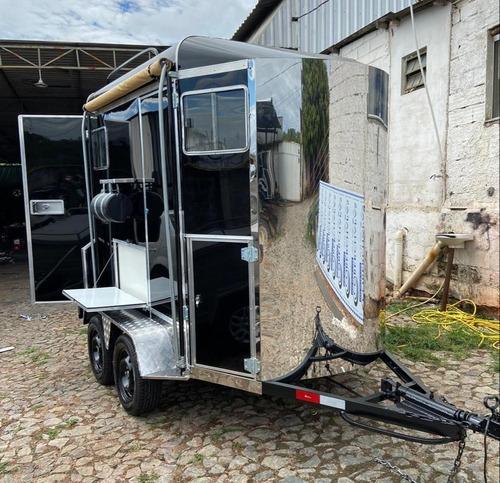 Trailer Carretinha Reboque 2 Cavalos 0km Direto Da Fábrica