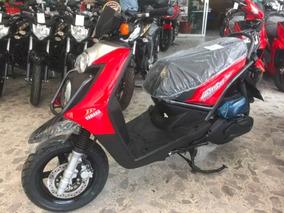 Yamaha Bws 125, 2018 0 Km, Rojo