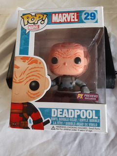 Funko Pop Deadpool 29 Exclusivo Caja Con Detalles 12cm