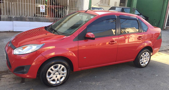Ford Fiesta Sedan 1.6 Rocam Se Flex 4p 2014 Uni. Dono Manual