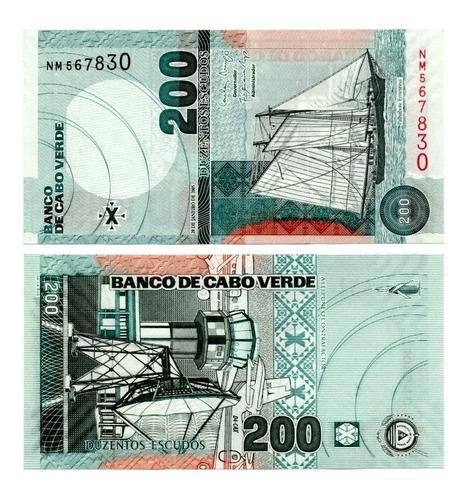 Billete De Cabo Verde 200 Escudos 2005 Numismatic Collection