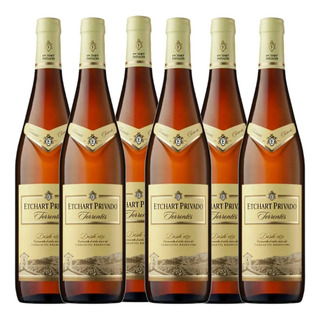 Vino Etchart Privado Torrontes Blanco 750ml Botella Pack X6