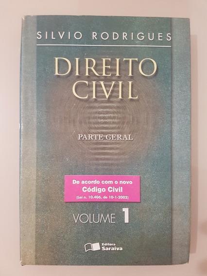 Livro Direito Civil: Parte Geral Vol 1 Silvio Rodrigues