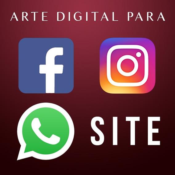 Arte Digital Para Facebook Instagram E Whatsapp