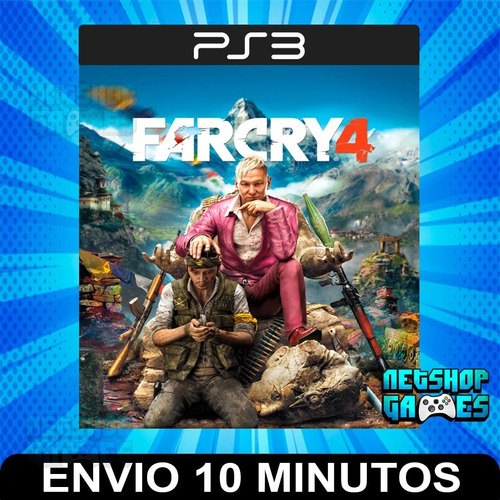 Far Cry 4 - Ps3 Digital - Español - Entrega Rápida