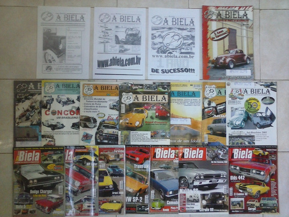 Carro Antigo 18 Revistas Raras - A Biela - Super Promoção