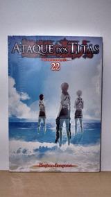 Mangá Ataque Dos Titãs Vol. 22 Novo E Lacrado