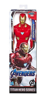 Muñeco Marvel Ironman Figura 30cm Titan Hero Hasbro E3918
