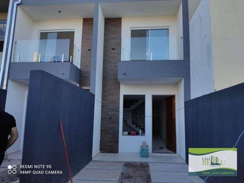 Casa Com 2 Dormitórios À Venda, 70 M² Por R$ 245.000,00 - Jardim Santo Antonio - Franco Da Rocha/sp - Ca0628