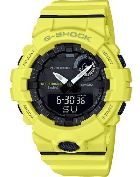 Relógio Casio G-shock G-squad Gba-800-9adr Passos Bluetooth