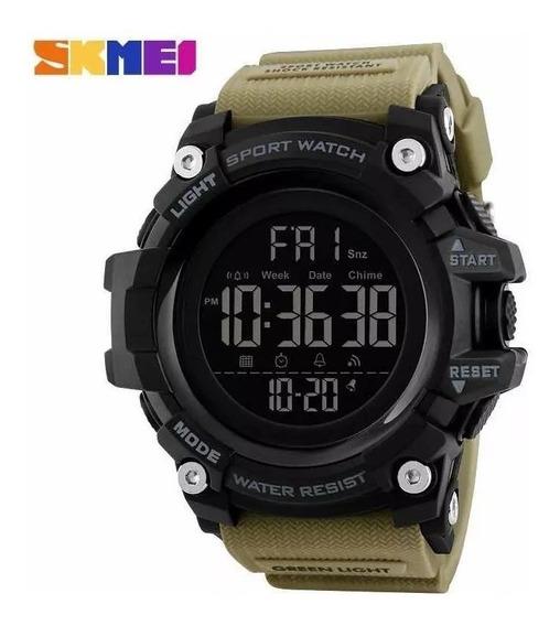 Relógio Skmei Led Esportivo Prova D´agua Original Militar Promoção