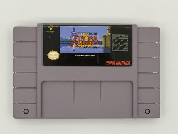 Cartucho The Legend Of Zelda Snes Fita Super Nintendo