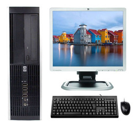 Kit Pc Hp Elite Core 2 Duo 2.6ghz 6gb 160gb + Monitor 17
