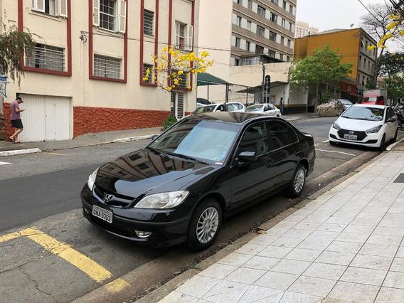 Civic 2005 Ex Automático Completo - Oportunidade
