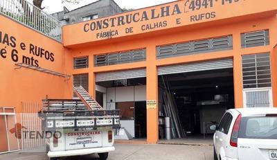 Galpão 375 M2 - Jd. Santo Ignácio - São Bernardo Do Campo. - Ga0003