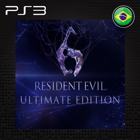 Resident Evil 6 Ultimate + Todas Dlc - Jogos Ps3 Play3