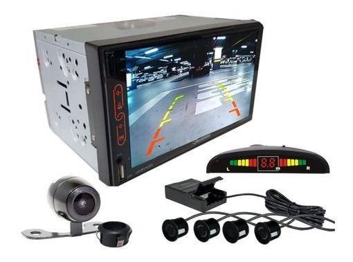 Multimidia Rs707mp7br Tv Gps Câmera Ré Sensor Estacionamento