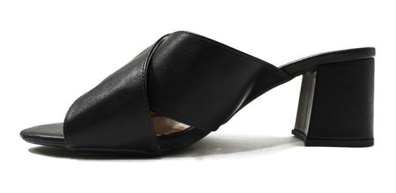 Sandalia Casual Taco Bajo Comodos Cata