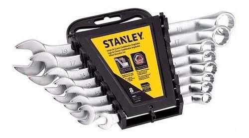 Set 8 Llaves Combinadas Acodadas Métricas Stmt97568 Stanley