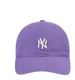 Gorra Beisbol Yankees Gorra Deportiva Varios Violeta
