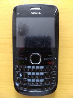 Celular Nokia C3 Liberado (20 Verdes)