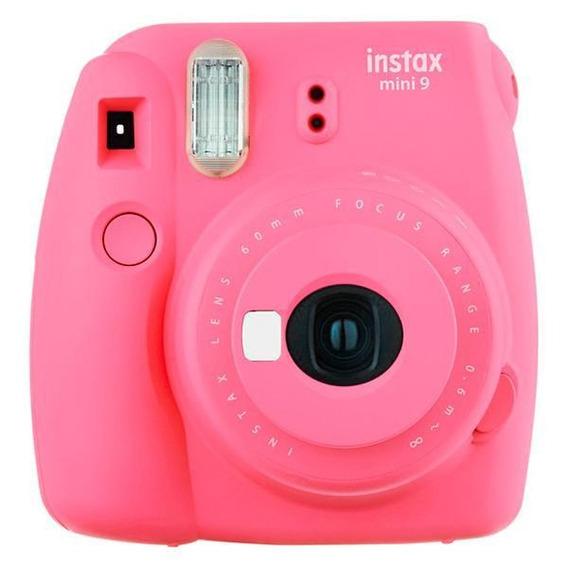 Câmera Instantânea Fujifilm Instax Mini 9 Com Flash Cores