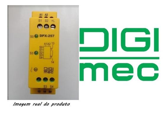 Rele De Segurança Nr12 Digimec Dpx-257 24vca/vcc. T4
