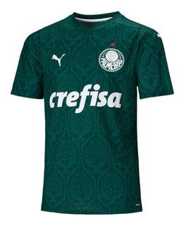 Camisa Palmeiras 2020 Verde Branca Puma