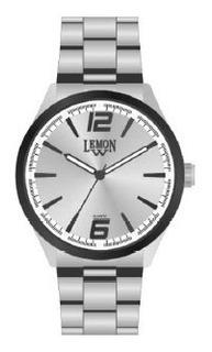 Reloj Lemon Moda Metal L1505 44mmø