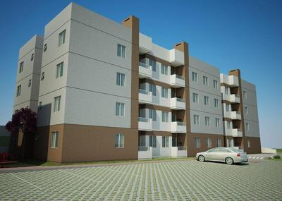 Apartamento 03 Dormitórios 65,17m2 À Venda, Cruzeiro, São José Dos Pinhais. - Ap0629