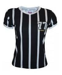 Camisa Corinthians - Alvinegro 77 Feminina Retrô
