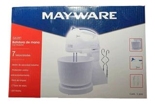 Batidora De Mano Con Pedestal Ga-091 Mayware
