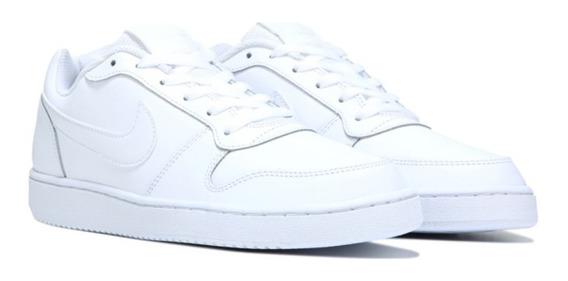 Zapatillas Nike Ebernon Low Urbanas Tipo Airforce Blancas