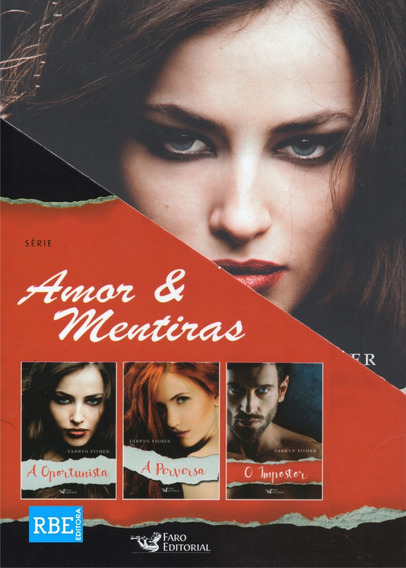 Box Amor E Mentiras - 3 Livros
