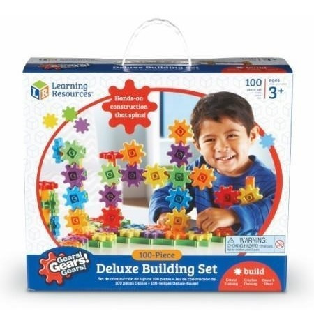 Learning Resources Gears! Set 100 Piezas De Construccion